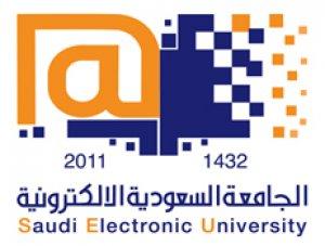 شعار الجامعة السعودية الالكترونية
